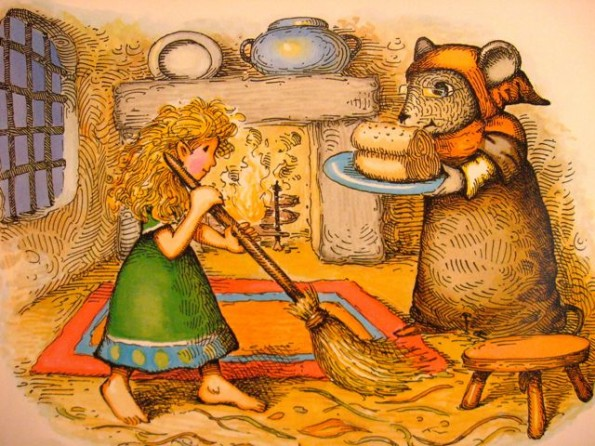 thumbelina helps fieldmouse